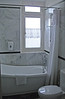 9-Colony Hotel room, bath