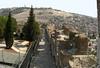 38- HaTkuma Garden (left); Mount of Olives; Silwan
