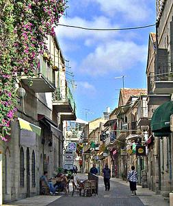 Closeup,  Yoel Moshe Salomon Street, 2009