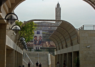 15-Tower of David from Mamilla Mall