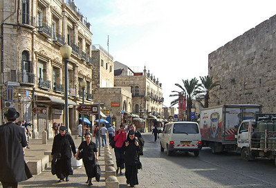 18-Omar Ben el-Hatab Street, after entering the Old City at Jaffa Gate