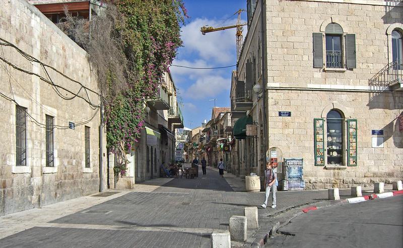 4-Looking North on Yoel Moshe Salomon from Yosef Rivlin