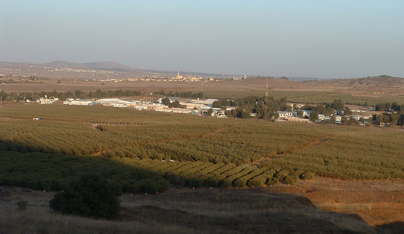 Syria from Ben Tal