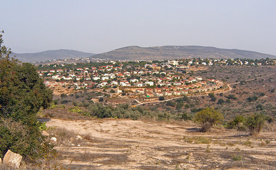 17-Looking from the ancient city toward Moshav Tzippori, built on the site of the former Arab village of Saffuriyeh.