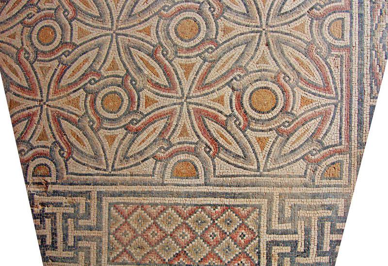 8-Geometric floor pattern