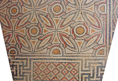 8-Geometric floor pattern