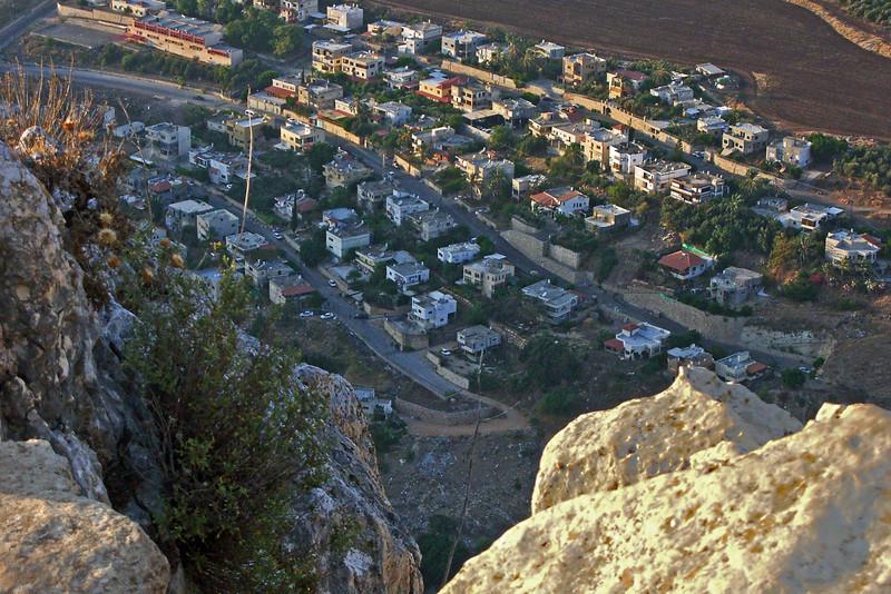 2-Hamam, an Arab village below (north of) Arbel