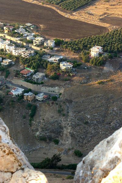 3-Hamam, an Arab Village below (north of) Arbel