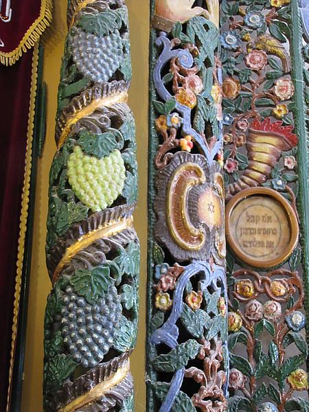 40-Ashkenazi Ari Synagogue, Ark detail and medalion