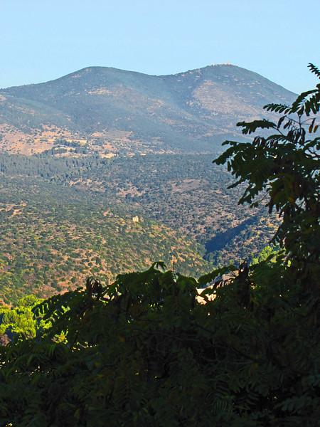 13-Mt Merom, 3963 ft, 7k from Lebanese border