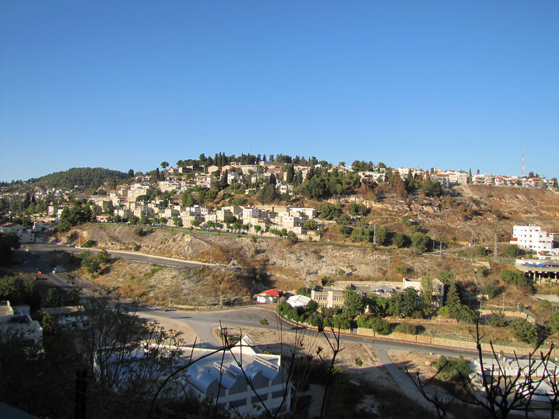07-Leaving Safed on Saturday about 6 PM. Restaurants are closed on Shabbat. We're escaping to nearby Rosh Pina to eat.