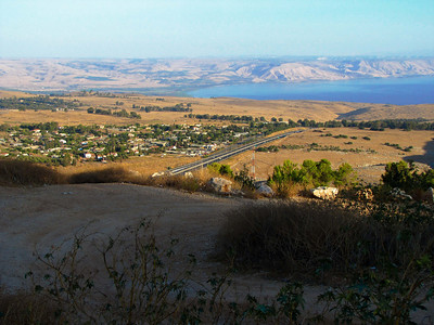 10-North end of Lake Kinneret