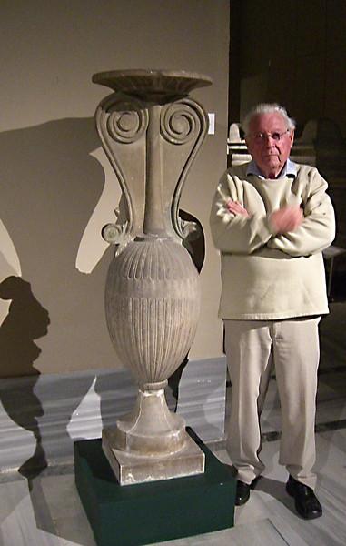 22-Abba Niv and pedestal
