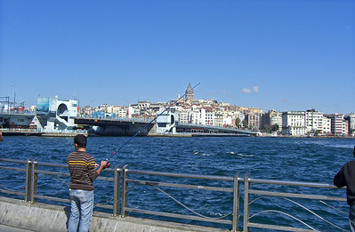 33-Galata Bridge and Tower