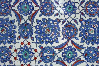 28-Rustem Pasha Mosque, İznik tiles.