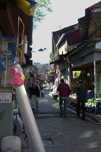 18-A street in Balat, the former Jewish Quarter.