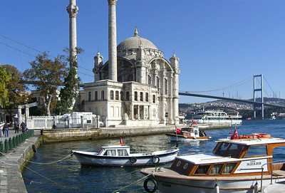 40-Ortaköy—Mosque, quay, and bridge