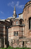 """9-The Kariye mosque was converted to a museum in 1948. When constructed in the 4th century as the Church of St. Saviour in Chora, it was outside the walls (""""chora"""") of Constantinople."""