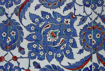 29-Rustem Pasha Mosque, İznik tiles.
