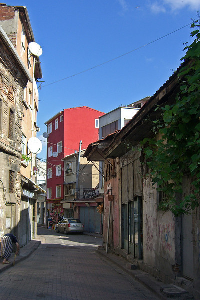 17-A street in Balat, the former Jewish Quarter.