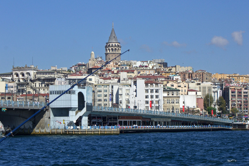 34-Galata Bridge and Tower