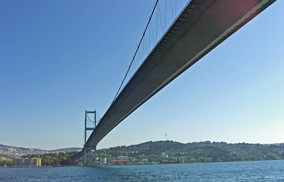 25-Asia side, seen from under the Bosphorus Bridge.