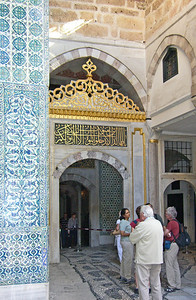 9-Topkapi, Harem. A labryinth of exquisite rooms where the sultan's wives and concubines lived.
