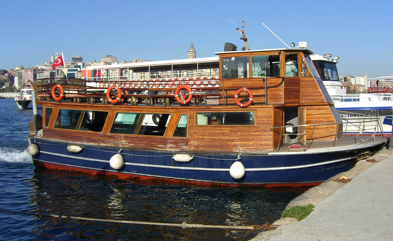 15-The Serenade, our sturdy craft for the boat trip up the Bosphorus