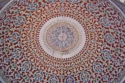 110. Domed ceiling, Mausoleum of Selim II.