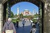 142. Hagia Sophia (Aya Sofya) from Sultanahmet Square.