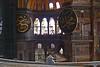 88. Hagia Sophia (Aya Sofya) interior and calligraphic roundels.
