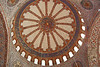 140. Blue Mosque, interior of dome.
