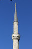 137. Minaret, Blue Mosque.