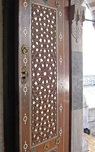 115. Entry door, exterior, Mausoleum of Selim II.