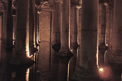 52. Basilica Cistern. 70m wide by 140m long, it could hold 80,000 cubic meters of water.