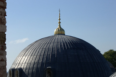 75. A Hagia Sophia (Aya Sofya) dome.