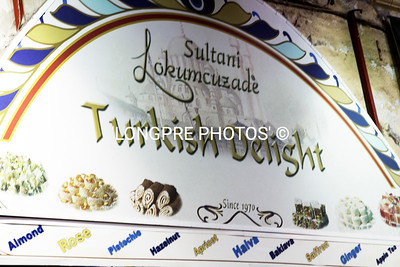 TURKISH DELIGHT ..popular sweet sold in Istanbul.