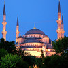 THE BLUE MOSQUE AT DAWN