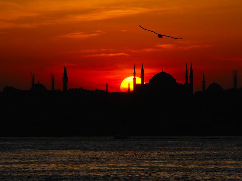 ISTANBUL SUNSET 1