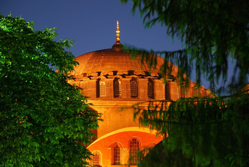 AYA SOFYA AT SUNRISE