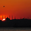 BLUE MOSQUE SUNSET