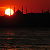 BLUE MOSQUE SUNSET 2