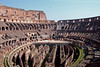 #0115 Roman Colosseum<br /> The Colosseum was started between 70 and 72 AD and completed in 80 AD. It was capable of seating approx. 50,000 people and used for watching gladiator figts and other public shows including executions, and reenactments of battles. The colosseum could be flooded for reenactments of Naval Battles. The area under the floor of the Colosseum would have cages for the wild animals and areas for the Gladiators with elevators and ramps that could be used to enter..-------JULY 7, 2007 VOTED AS ONE OF THE NEW 7 WONDERS OF THE WORLD