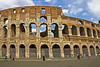 #0132 Roman Colosseum<br /> The Colosseum was started between 70 and 72 AD and completed in 80 AD. It was capable of seating approx. 50,000 people and used for watching gladiator fights and other public shows including executions, and reenactments of battles. The colosseum could be flooded for reenactments of Naval Battles.-------JULY 7, 2007 VOTED AS ONE OF THE NEW 7 WONDERS OF THE WORLD