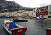 0325 Capri Harbor<br /> Capri became important in political and military matters during the Roman Empire Augustus landed on Capri in 29 BC and fell in love with the Island. He decided to liberate the Island from Naples. Emperior Tiverius also resided on the island and ruled his empire from the Island. He would signal his Fleet from the Highest pint of Capri with watch fires that could be seen on the Italian Coast.