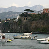 I took a bus from Positano to Sorrento , , ,