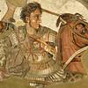 Alexander mosaic from Pompeii.
