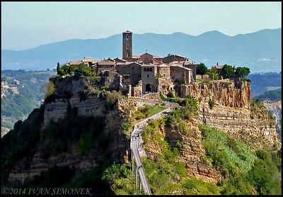 """""""ITALY 6"""",Civita di Bagnoregio."""