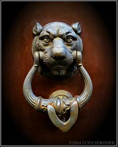"""""""ITALY 4"""",door knocker."""