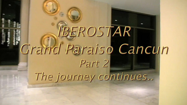 A video visit to the fabulous IBEROSTAR Grand Paraiso Hotel in Cancun Mexico. This is the first of 3 videos of this hotel so check back to see the other videos.  Shot with a Canon HV30 in 30P, post in FCP.